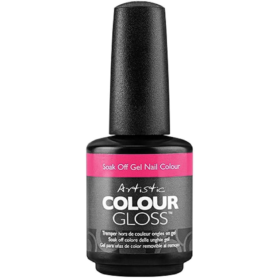 フォーマル簡単に囚人Artistic Colour Gloss - Naughty Girl - 0.5oz / 15ml