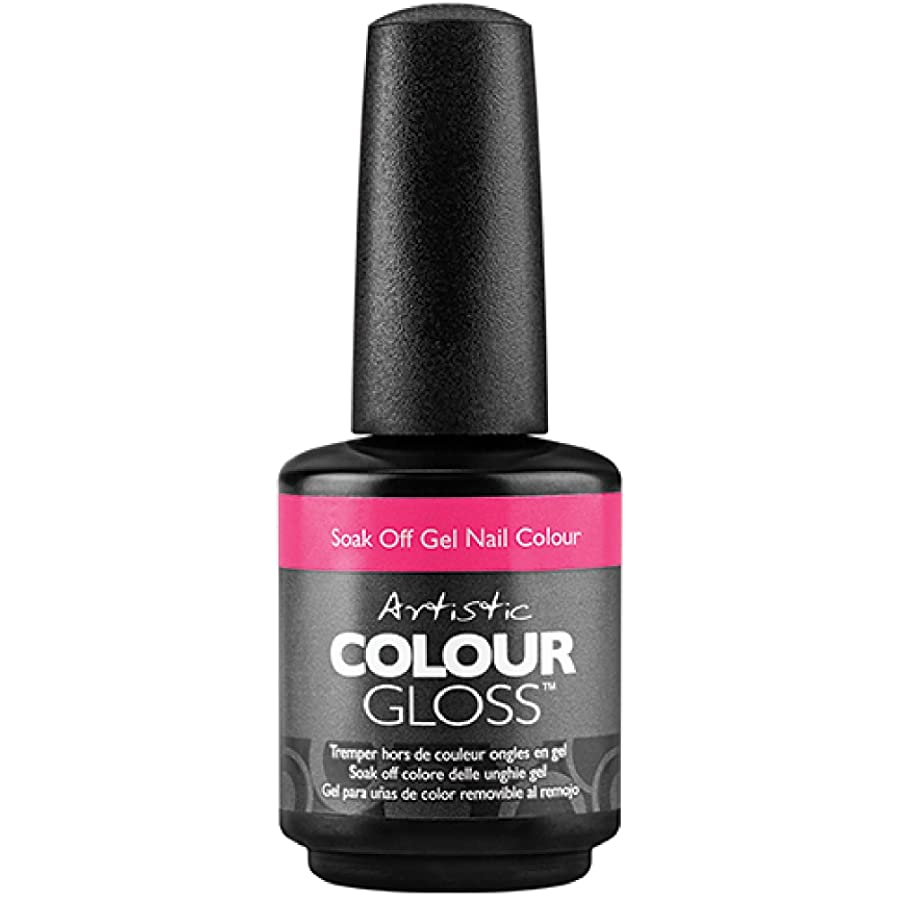 原油マーカー振りかけるArtistic Colour Gloss - Naughty Girl - 0.5oz / 15ml