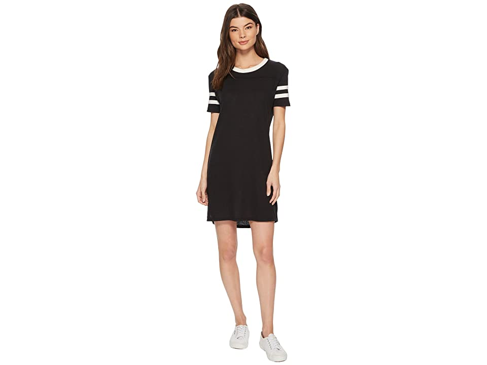 Alternative Eco Jersey Stadium T-Shirt Dress (Eco True Black) Women