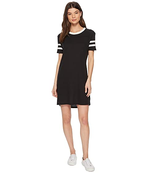 ALTERNATIVE Eco Jersey Stadium T-Shirt Dress, Eco True Black