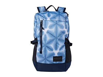 Burton Prospect 2.0 Backpack (Blue Dailola Shibori) Backpack Bags