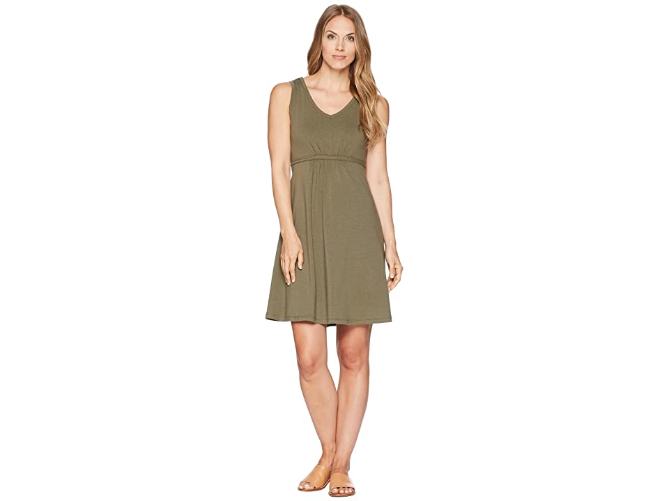 FIG Clothing Hip Dress (Mangrove) Women