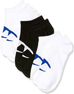 Champion Men's C Logo No Show Socks (3 Pair)