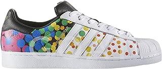 Originals Men's Superstar Casual Fashion Sneaker, LGBTQ Pride White 9 D(M) US
