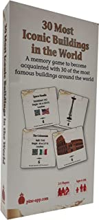 Papp Iconic Buildings of The World Card Game - Unique Memory and Trivia Card Game for The Whole Family - Learn About 30 Wo...