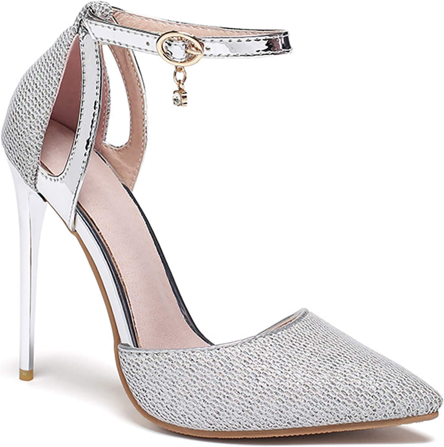 YTWD OFFer Fish Mouth Stiletto Sandals High Women Hollow OFFicial store Toe Heel Open
