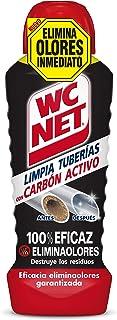 Wc Net Limpia Tuberías con Carbón Activo, Compuesto, Multicolor, 24.5x8.6x7.1 cm