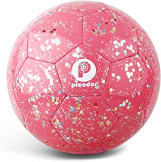 PP PICADOR Kids Soccer Ball, Glitter Shiny Sequins...