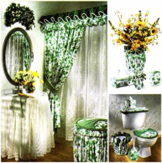 Simplicity Bathroom Accessories Curtains, Skirt, Hampers, Covers More Sewing Pattern # 7183