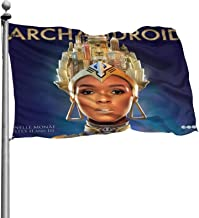 Janelle Monae The ArchAndroid Garden Flag Decorative Flag for Home Garden Yard Office Decorations Personalized Banner Flag...
