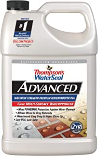Thompsons Water Seal A11701 1-Gallon Advanced Maximum Strength One-Coat Waterproofed
