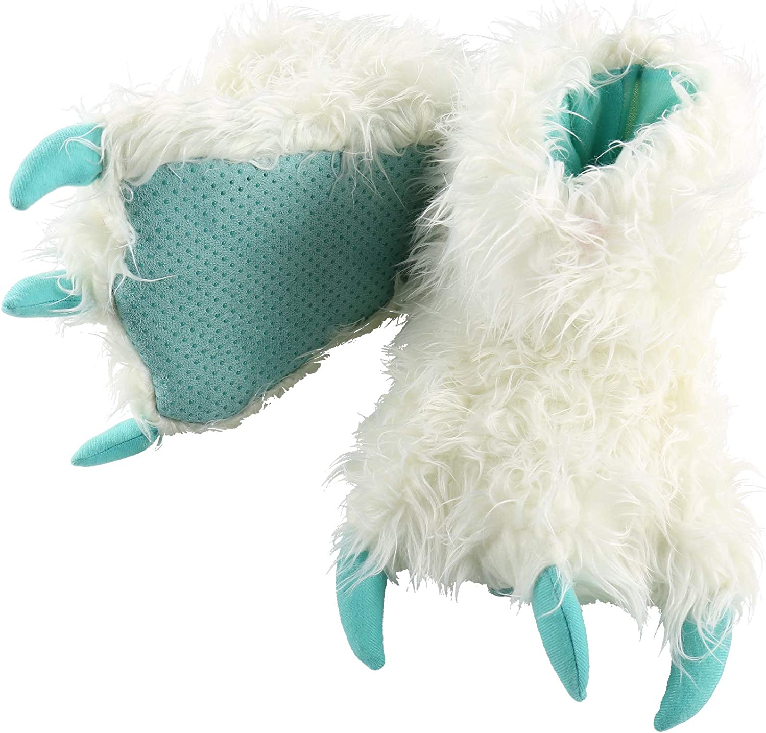 Costume Soft Lazy One Animal Paw Slippers for Adults and Kids Fun Cozy