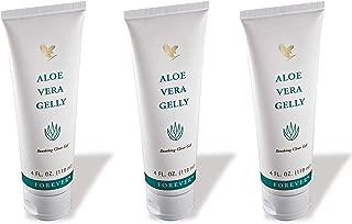 Forever Living Aloe Vera Gelly, 4 Fl. Oz,100% stabilized aloe vera gel (3 Pack)