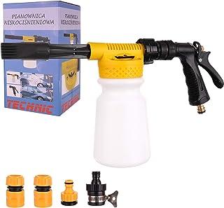 Schaumkanone TECHNIC Foam Gun Schaumlanze Schaumpistole + Anschlüsse Schaum Waschpistole Autowäsche Lanze