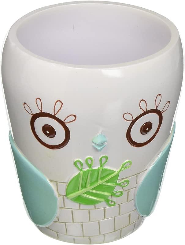 Creative Bath GIV11MULT Give A Hoot Ceramic Tumbler
