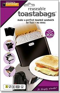 Toastabags 300Uso Pack, Negro, Pack de 5-P, acrílico