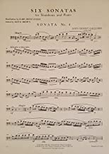 Six Sonatas for Trombone and Piano