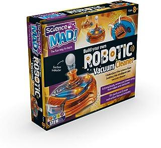 Science Mad SM38 - Build Your Own Robotic Vacuum Cleaner, Multi