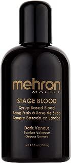 Mehron Makeup Stage Blood (4.5 Ounce) (Dark Venous)