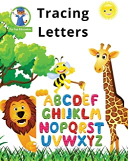 Tracing Letters: Preschool Workbooks (100+ Pages and a Reproducible Alphabet Chart)