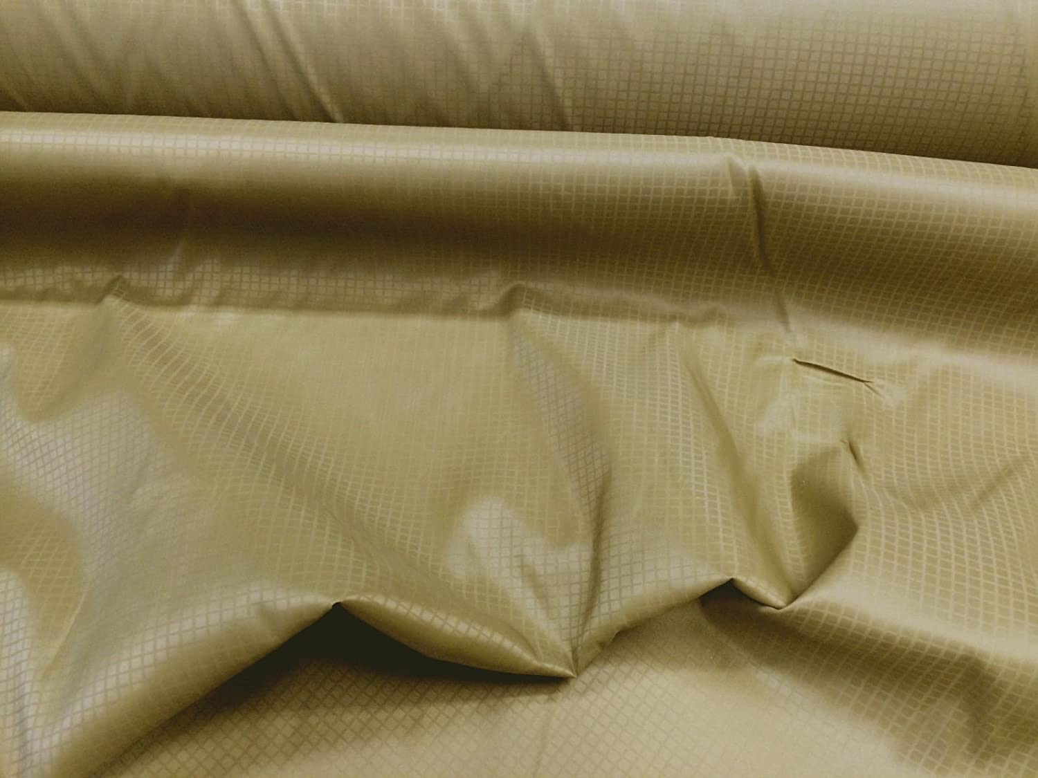 10 Yard Lot New Orleans Mall Discount Fabric Ripstop Stop Rip Nylon Special sale item Coyote Brown