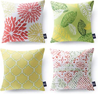 Pink Floral Outdoor Pillows