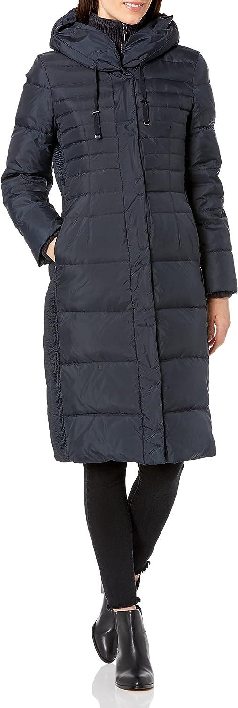 Fleet Street Ltd. Women's Long Maxi Down Coat : Sports & Outdoors