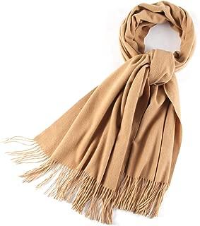 Chunky Scarfs for Women Men Cashmere Feel Super Soft Warm Cozy Shawl Wraps