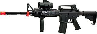 bbtac m4 m16 replica airsoft gun m83 a2 electric rifle full automatic semi w/ red dot scope tactical aeg(Airsoft Gun)