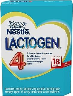Nestlé LACTOGEN 4 Follow Up Infant Formula (after 18 Months) 400g (Pack of 2)..