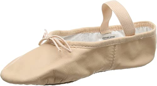 Bloch Arise Leather Ballet Shoe Pink
