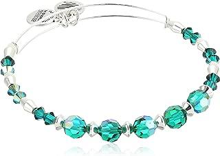 Alex and ANI Swarovski Crystal Beaded Bangle Bracelet