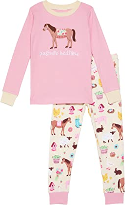 Country Living Applique Pajama Set (Toddler/Little Kids/Big Kids)