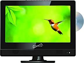 """Sponsored Ad - SuperSonic SC-1312 LED Widescreen HDTV & Monitor 13.3"""", Built-in DVD Player with HDMI, USB, SD & AC/DC Inpu..."""