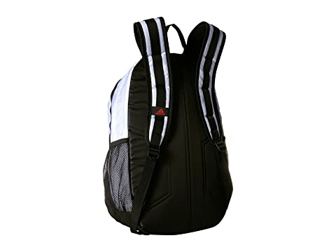 adidas Excel IV Backpack White Jersey/Black/Scarlet Free Shipping Popular Toe6KrMGtP