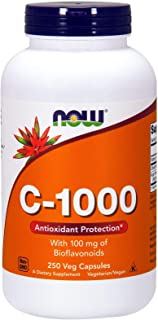 Now Foods, C-1000, With 100 mg of Bioflavonoids, 250 Veg Capsules