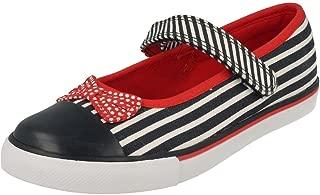 Clarks Girls Washable Canvas Shoes Gracie Joy