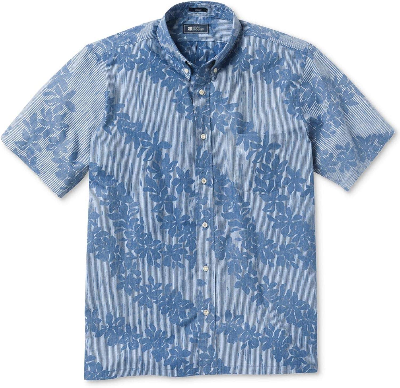 Bombing free shipping Reyn Spooner Men's Classic Max 83% OFF Hawaiian Fit Shirt