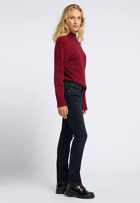 Mustang Women's Jasmin Slim Jeans Blue (Super Dark 905)