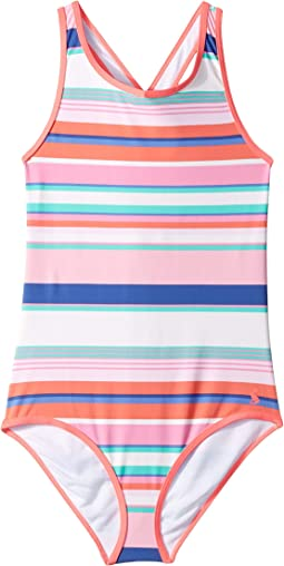 c5a8b896ce Pink Multi Stripe. 4. Joules Kids. Briony One-Piece Swimsuit  (Toddler/Little Kids/Big Kids). $32.95. Yellow Floral