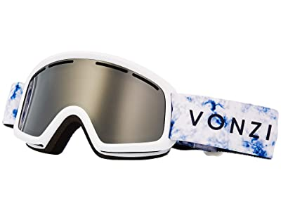 VonZipper Trike Goggle (White Satin/Wild Grey Chrome) Goggles