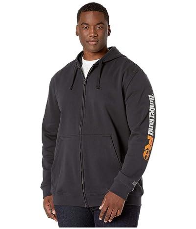 Timberland PRO Hood Honcho Sport Full Zip Tall (Black) Men