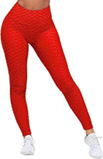 FEOYA High Elastic Yoga Workout Pants Fitness Running Leggings High Waist Compression Trousers