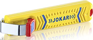 Jokari 10270 Secura Cable Stripping Knife for All Standard Round Cables, No. 27, 13.2cm L x 2.9cm W x 3.5cm H