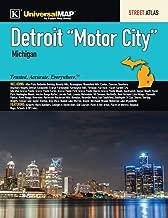 Detroit Motor City, MI Street Atlas