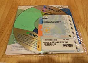 Emachines W2646 Restore Cds - Set of 3 Resore Recovery Cds