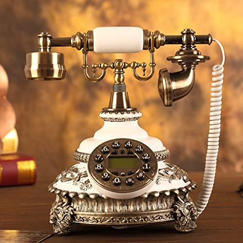 FANDBO De style europ¨ en Antique M¨ tal Retro mode Creative T¨ l¨ phone 163BH