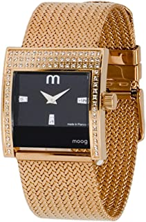 Champs Elysées Women's Watch with Silver/Pink/Champagne/Black/Gold Dial, Silver/Rose Gold/Gold Stainless Steel Strap & Swarovski Elements