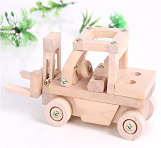 Sala Trend Children Wooden Fork Lift Car Building Kit