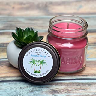 Bahama Breeze Candle, 8 oz soy candle